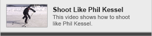 Shoot like Phil Kessel